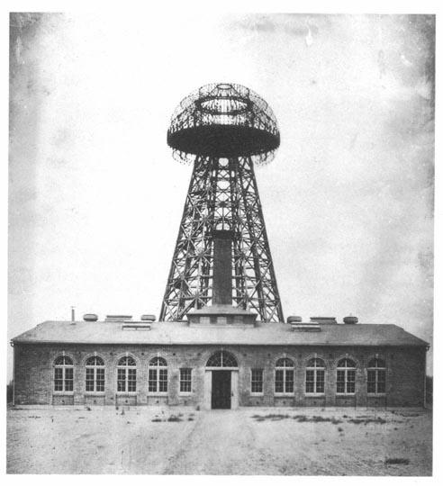 Teslin Wardenclyff toranj za bežično slanje energije